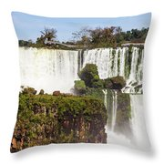 Terraces Of Water Throw Pillow