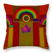 Terracota Classic Throw Pillow