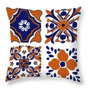 Terracota Throw Pillow
