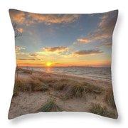 Terrapin Park Sunset Throw Pillow