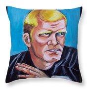 Terry Badshaw Rookie Throw Pillow