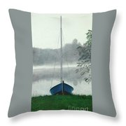 Terry's Runabout Throw Pillow