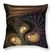 Tertiary Harmonics Throw Pillow