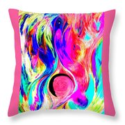 Tesla Throw Pillow by Chris Cloud