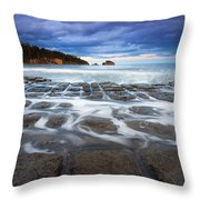 Tessellated Flow Throw Pillow