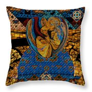 Tesserae 5 Throw Pillow