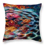 Tesseralien Griddle Throw Pillow