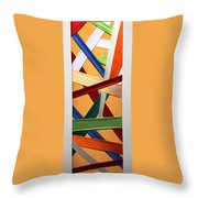 Tessuto Msc 01 Throw Pillow