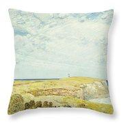 Montauk Point, 1922 Throw Pillow