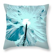 Test Hibiscus Two Throw Pillow