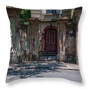 Colonial Past Throw Pillow