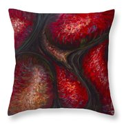 Testosterone Throw Pillow