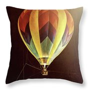 Tether Before Sunrise Throw Pillow