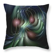 Tethered Sentiments Throw Pillow