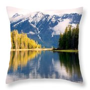 Teton Beauty Throw Pillow