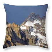Teton Peaks Throw Pillow