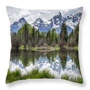 Teton Reflection Throw Pillow