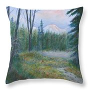 Teton Valley Throw Pillow