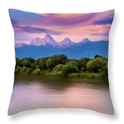 Teton Valley Paradise  Throw Pillow