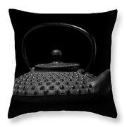 Tetsubin Teapot Throw Pillow