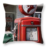 Texaco Fire-chief #1 Throw Pillow