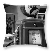 Texaco Fire-chief #3 Throw Pillow