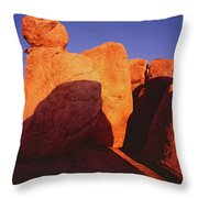 Texas Canyon Ominous Shadow Throw Pillow