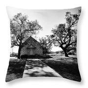 Texas Country Church Throw Pillow