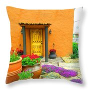 Texas Fiesta-style Throw Pillow