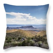 Texas Landscapes #2 Throw Pillow