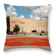 Texas Lone Star State Throw Pillow