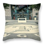 Texas Rangers Logo Throw Pillow