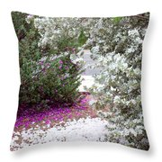 Texas Sage No2 Throw Pillow