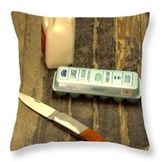 Texas Staples Throw Pillow