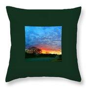 Texas Sunset  Throw Pillow