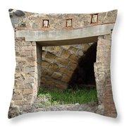 Textural Antiquities Herculaneum Four Throw Pillow