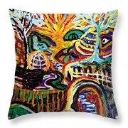 Texture Abstract  Throw Pillow
