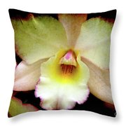 Texture Lady Throw Pillow