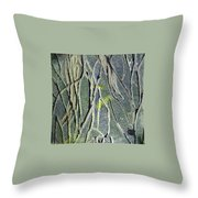 Texture Study One   Entanglement Throw Pillow