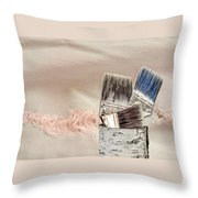 Texture Your World Throw Pillow