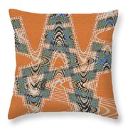 Textured Abstract # 2060ew4dt Throw Pillow