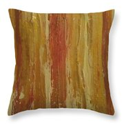 Textured Cinnamon Throw Pillow