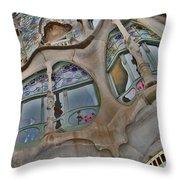Textures. Gaudi. Modern Style. Throw Pillow