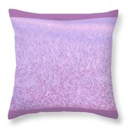Textures Series - Frost Throw Pillow