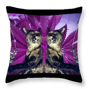Tha 2piece Kitty Throw Pillow