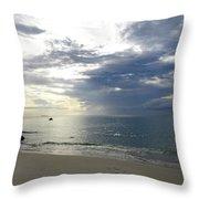 Thai Beach Throw Pillow