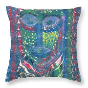 Thai Beauty Throw Pillow