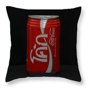 Thai Coke Throw Pillow