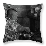 Thai Cook Throw Pillow