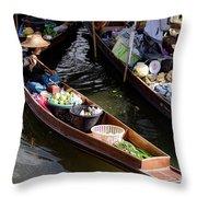 Thai Village 2 Throw Pillow